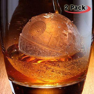 2 Pack Death Star Ice Mold