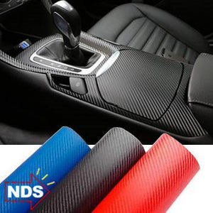 Carbon Fiber Adhesive Wrap - Revive Your Car, Phone, and More!