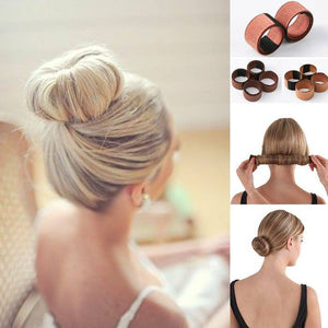 2 Pcs Easy Hair Bun Maker