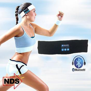 Smart Wireless Sport Headband - Perfect for Winter Running!