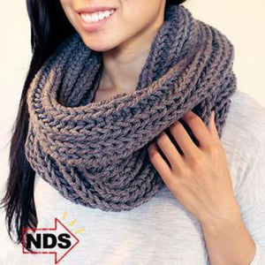 Infinity Knit Loop Scarf - Stay Warm in the Winter!