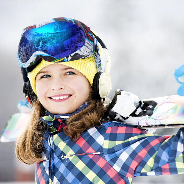 OutdoorMaster Kids Ski Goggles