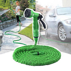 50ft Expandable High Pressure Hose Nozzle (7-pattern spray head)