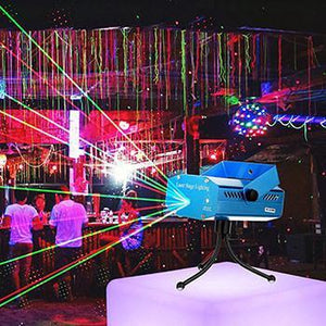 Laser Light Stage Projector - Get Your Own Laser Party Light!