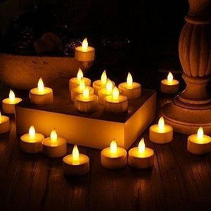 LED DIY Flameless Candle Lights - Perfect for Decorations! (20pc)