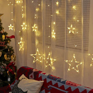 XMAS LED Starry Curtain Lights