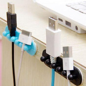 Multi-Purpose Cable Clips - No More Messy Wires (20pc)