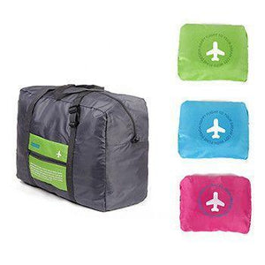 Easy Foldable Travel Bag - Starts Small Ends Up LARGE!