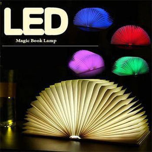 Fabulous LED Magic Book Lamp - Perfect Gift for Book Lovers!
