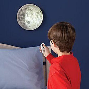 Indoor LED Moon Wall Lamp - Take the Moon Home!