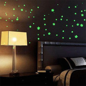 Twinkle Star Wall Stickers (10pc)