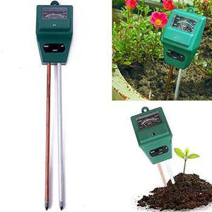 3 in 1 Soil Moisture / PH Meter - Good for Gardener or Planter Indoor and Outdoors