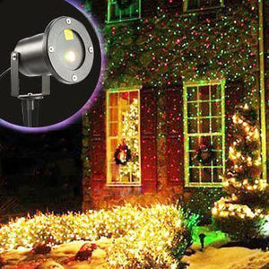 LED Outdoor Waterproof Laser Projector - Create Your Own Light Show!