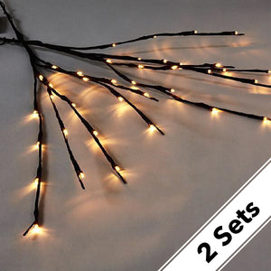 2 Sets LED Decorative Twig Light