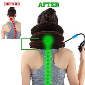 Pain Relief Neck Traction Pillow - Great for Neck Pain!