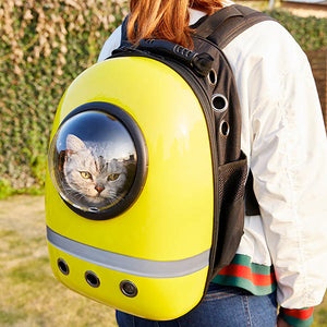 Bubble Pet Travel Backpack - Explore the World with Your Pet!