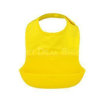 Baby Roll Up Bib with Silicone Food Catcher Tray (3 Colors Available)-Next Deal Shop-Next Deal Shop