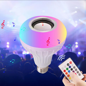 Color-Changing LED Speaker Bulb