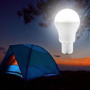 Solar-Powered LED Portable Bulb - Perfect for Camping!