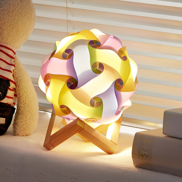DIY Puzzle Lamp Shade