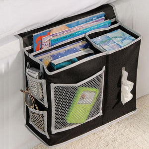 Oxford Cloth Bedside Storage Organizer