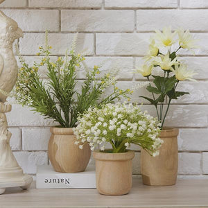 Simple Wooden Plant Pot