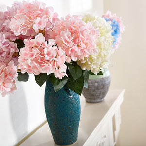 Artificial Hydrangea Silk Bouquet (2pc)