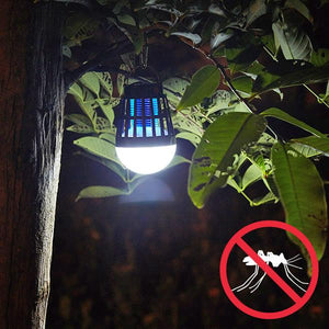 USB Chargeable Solar Electric Mosquito Killer Lantern