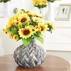 Artificial Silk Sunflower Bouquet