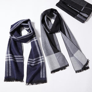 Cozy Knit Men's Scarf