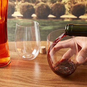 Tritan Plastic Wine Glasses