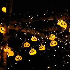 Halloween Themed Pumpkin String Lights