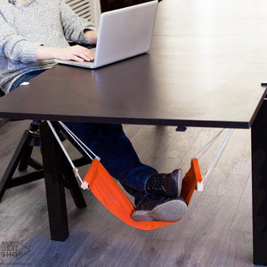 Foot Rest Hammock - Support Lower Back, Legs, and Feet!