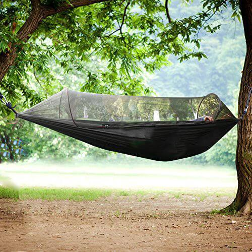 Easy Camping Outdoor Hammock Tent (Hand-Free Installation)