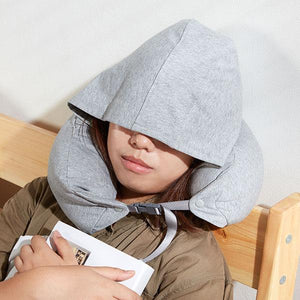 Hoodie Neck Travel Pillow