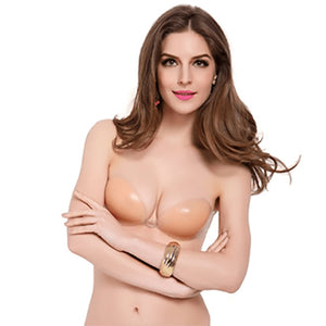 Instant 3D Invisible Silicone Push Up Bra - Self Adhesive Wing