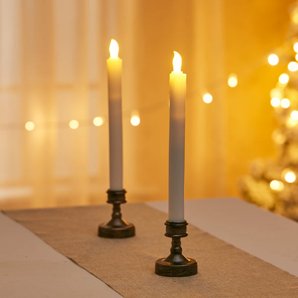 2 Pcs LED Candlestick Lights
