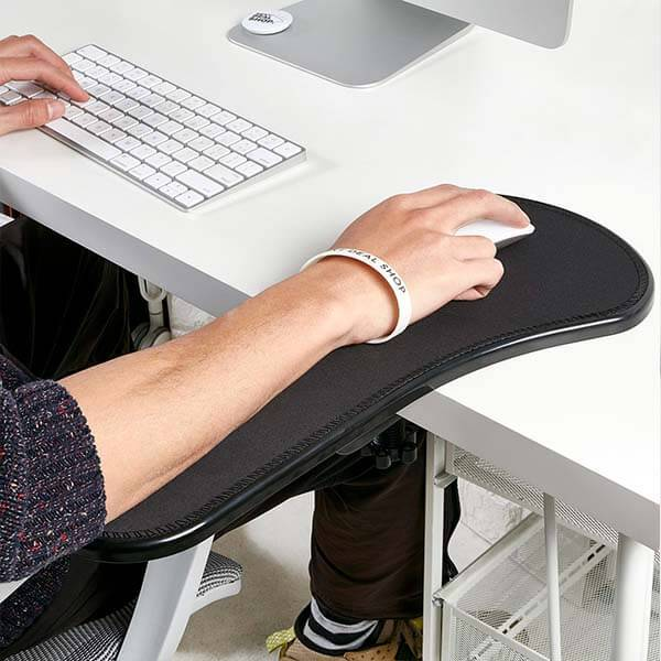 Adjustable Computer Arm Rest Pad