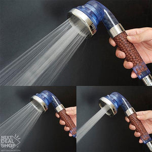 High-Pressure Ionic Pure Filter Shower Head - Enjoy SPA at Home!