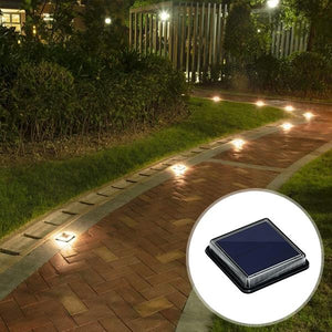Solar-Powered LED Path Light