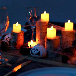 20 Pcs LED DIY Flameless Candle Lights - Perfect for Decorations! (20pc)