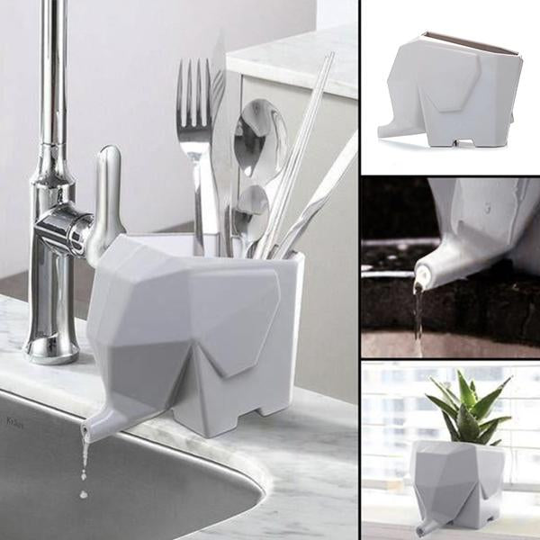 Cute Elephant Water Drainer
