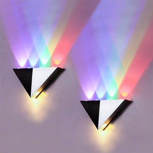 LED Triangle Wall Lamp