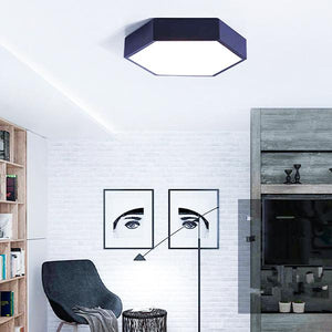 Modern Hexagon LED Ceiling Light