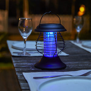 Solar Powered Bug Zapper Lantern