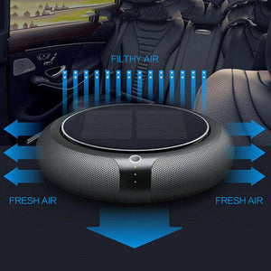 Solar-Powered Car Air Purifier