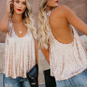 Sparkly Sequin Tank Top