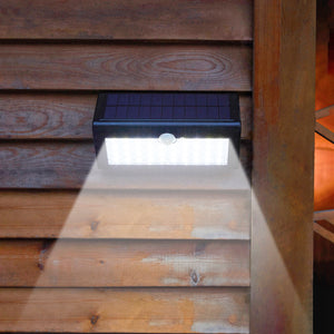 SUPER Solar-Powered Motion Sensor Light - Super Bright, No Wiring Needed, Easy Installations.