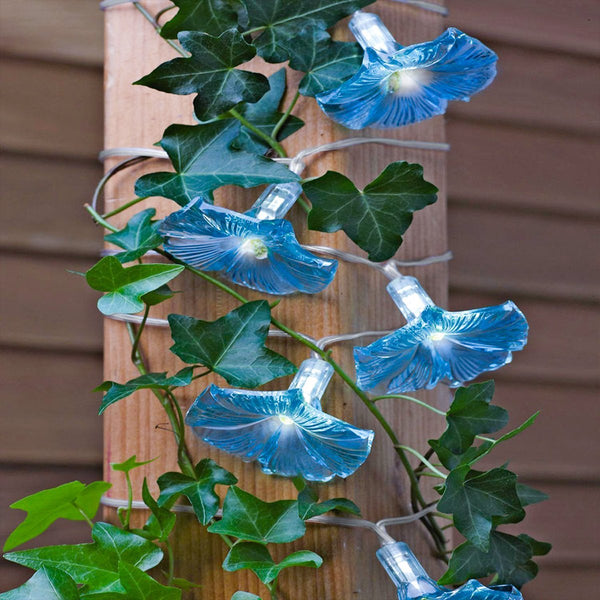 Solar-Powered Morning Glory Lights-Next Deal Shop-Next Deal Shop