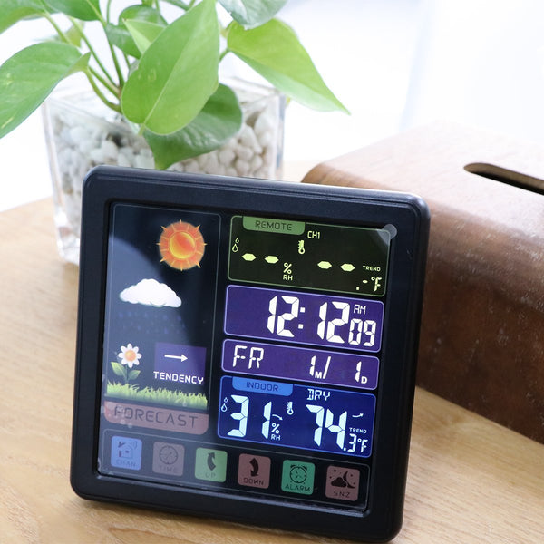 Wireless Weather Touch Screen Clock-Next Deal Shop-Next Deal Shop